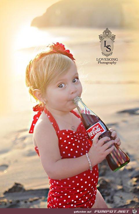 total süße Babyfotos