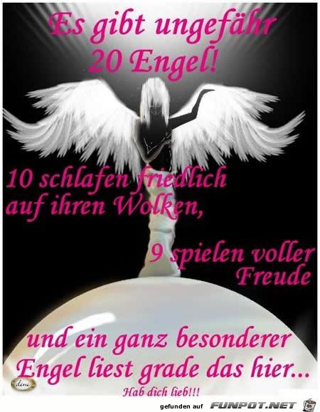 es gibt 20 Engel
