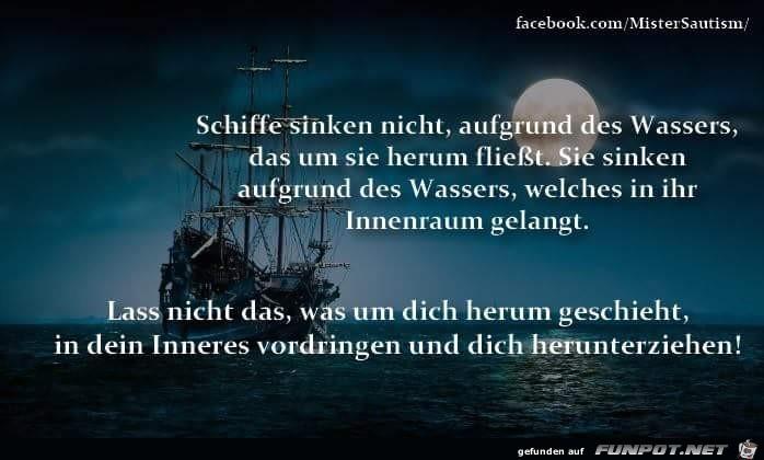 schiffe sinken nicht