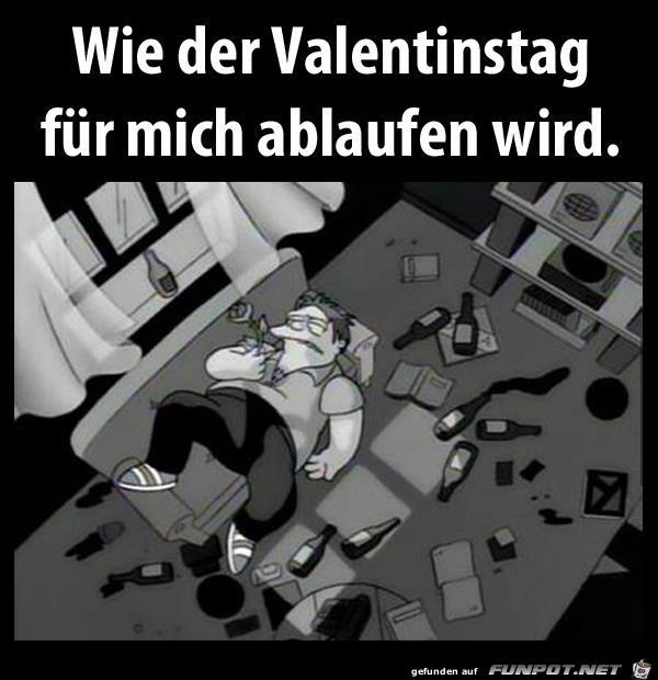 mein Valentinstag