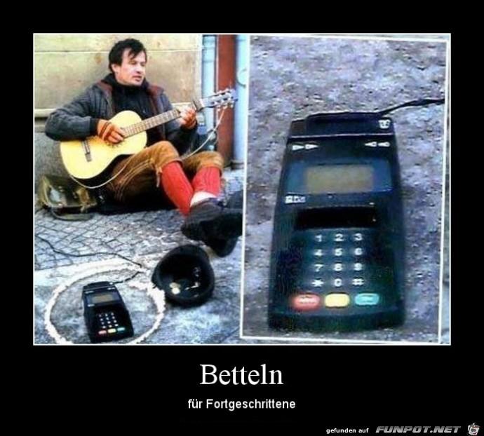 Betteln