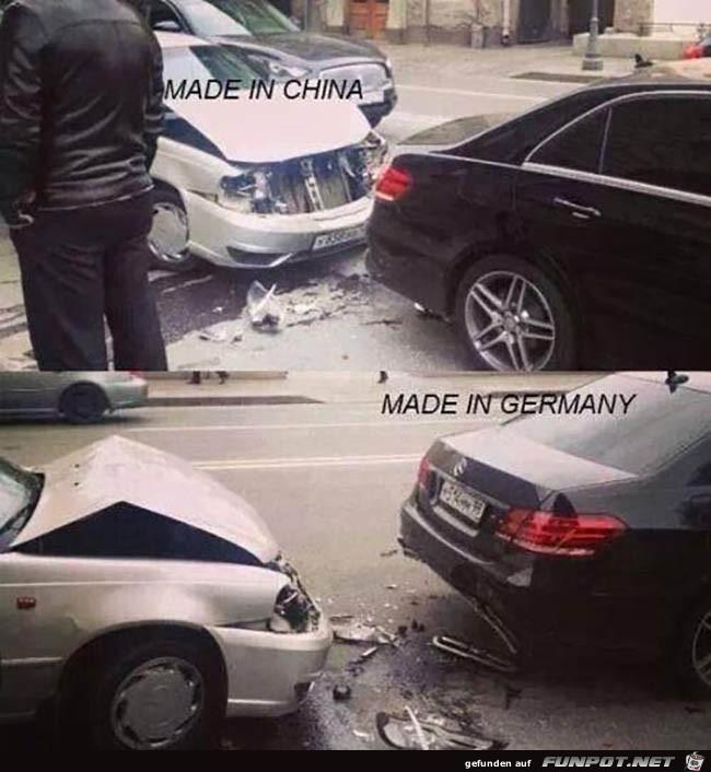 Unterschied China und Deutschland