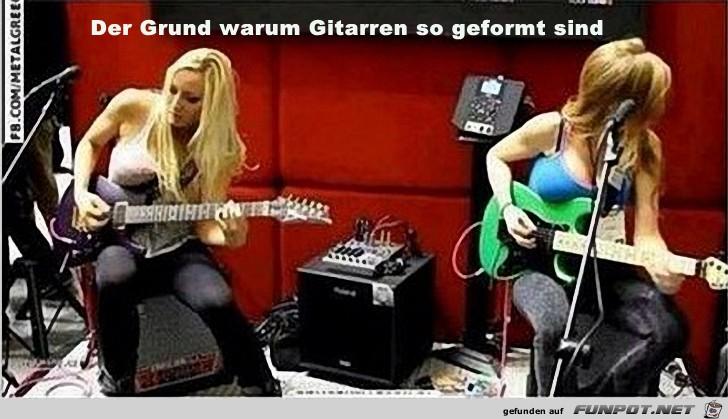 Der Grund warum Gitarren...