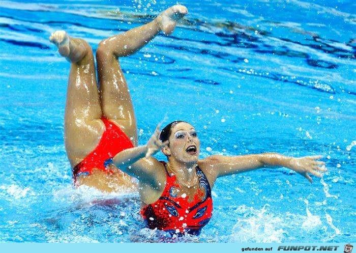 Riesenschwimmerin