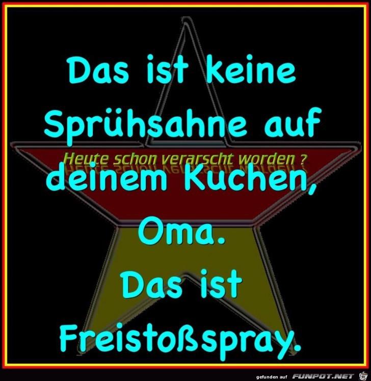 Freistossspray