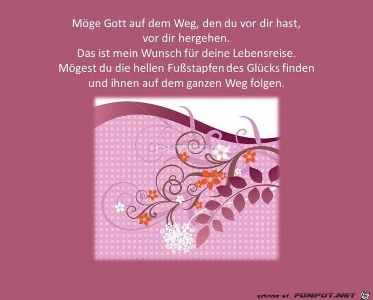 Wunsch fuer Lebensreise