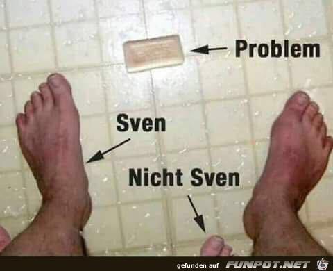 er Sven und sein Problem