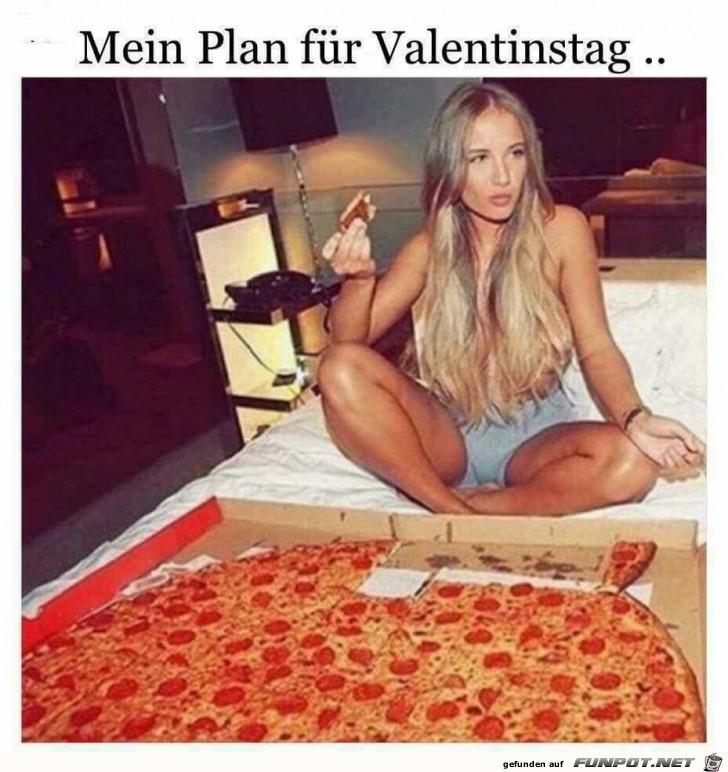 Mein Plan zum Valentinstag