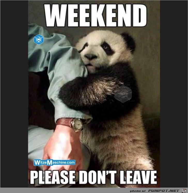 Wochenende bleib