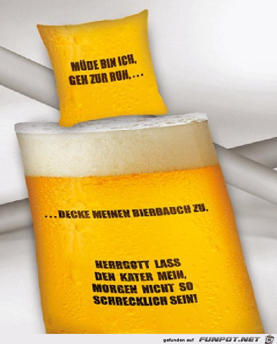 Bierbauch zudecken