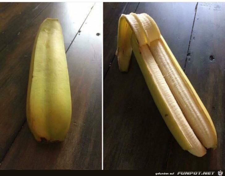 Spezielle Banane