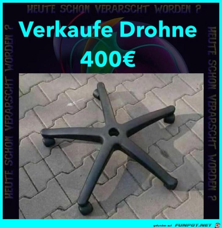 Drohne zu verkaufen