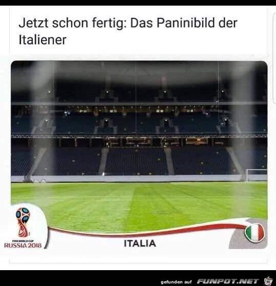 Paninibild Italien