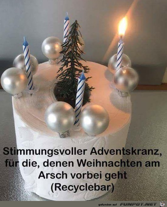 Super Adventskranz