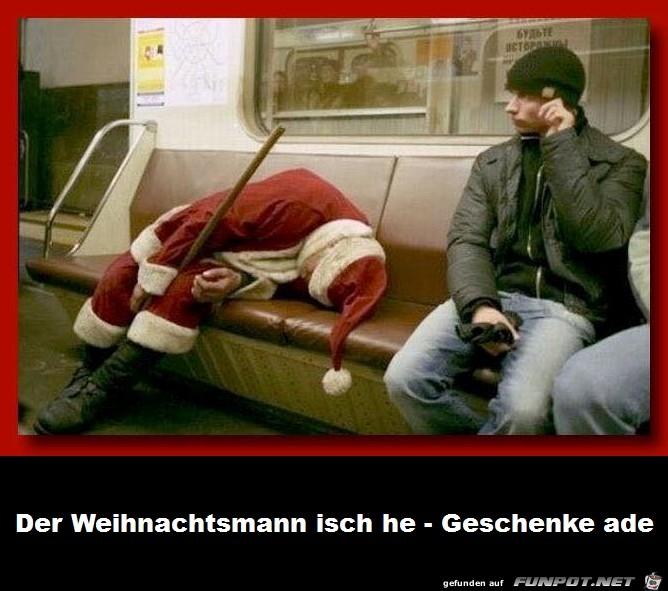 Weihnachtsmann isch he