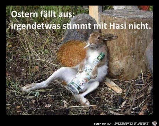 Ostern fällt aus......