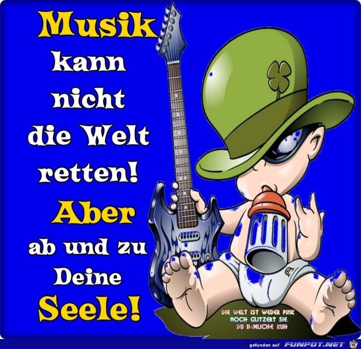Musik kann nicht die Welt retten