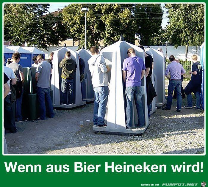 Wie aus Bier Heineken wird...