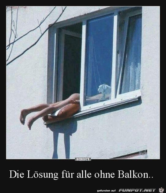 ohne Balkon