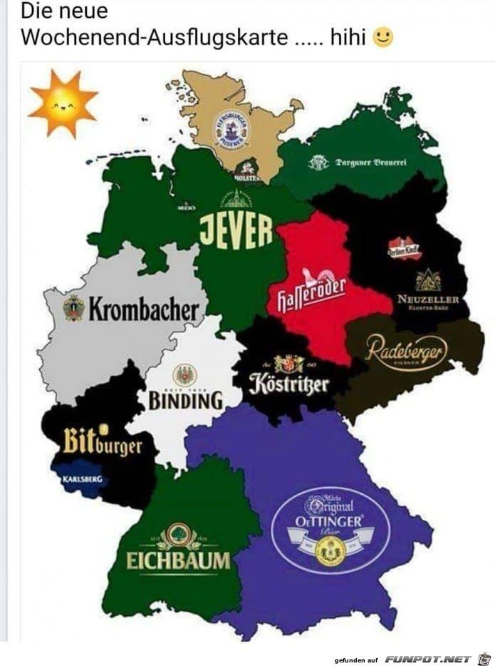 Ausflugkarte