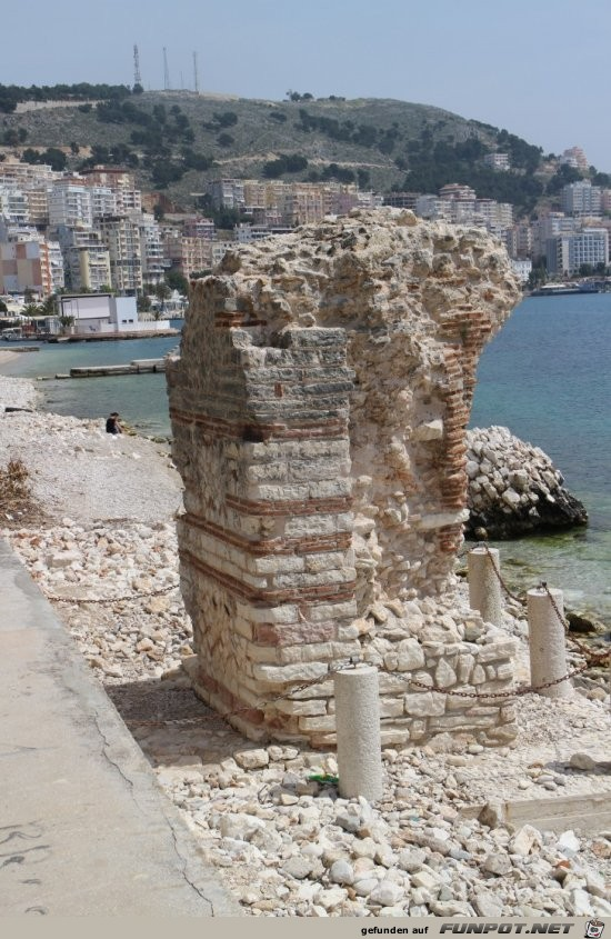 Impressionen von der albanischen Riviera mit Saranda