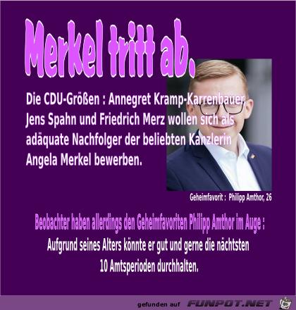 Merkel-Nachfolger