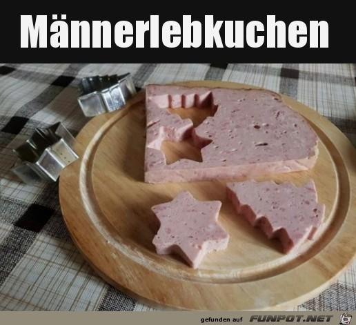 Lebkuchen für Männer