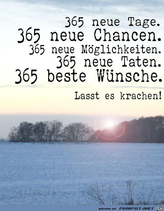 365 neue Tage..