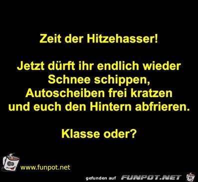 Hitzehasser