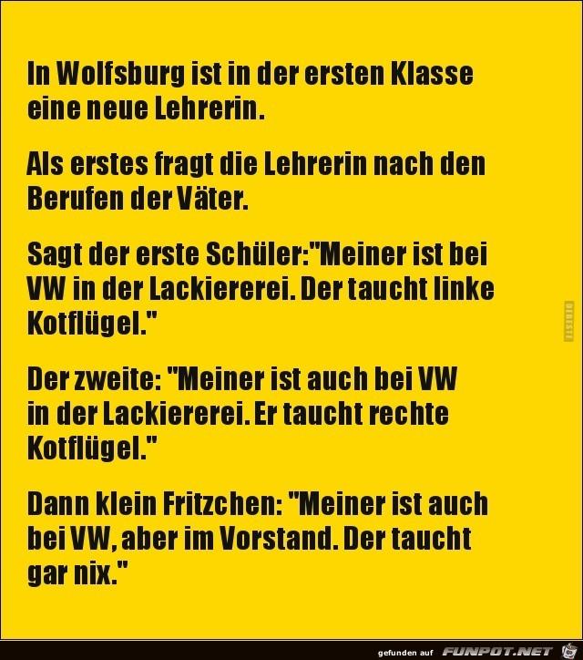 neue Lehrerin in Wolfsburg..