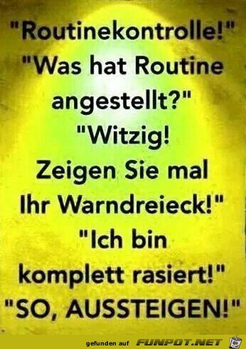 routinekontrolle