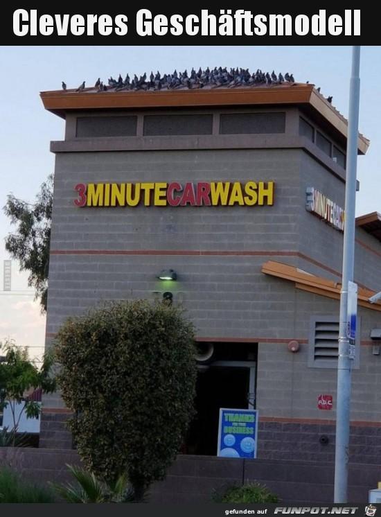 Die Tauben sind bezahlt