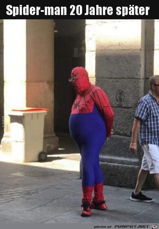 Älterer Spiderman