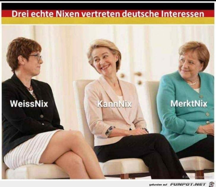 Drei Nixen