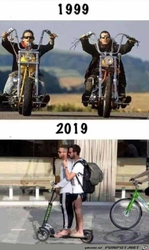 So ändern sich die Zeiten