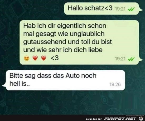 Hallo Schatz
