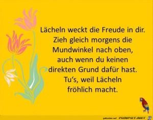 Laecheln-weckt-die-Freude.jpg auf www.funpot.net