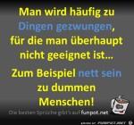Man-wird-gezwungen.jpg auf www.funpot.net