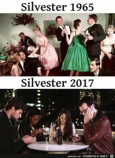 Silvester-1965-und-2017.........jpg von Edith