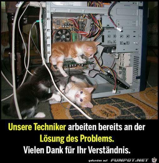 Unsere Techniker
