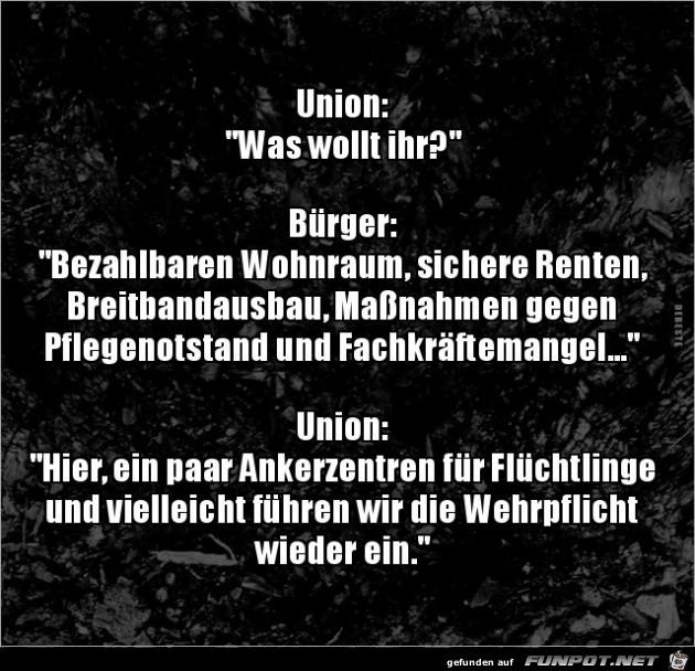 Union und Bürger.....