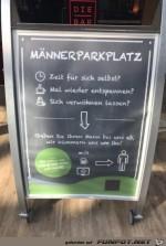 Maennerparkplatz.jpg auf www.funpot.net