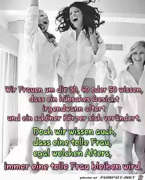 Wir Frauen über 30
