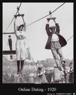 Online-Dating-damals.jpg auf www.funpot.net