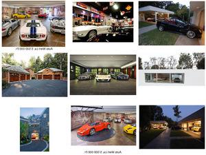 wo die Reichen ihre Autos parken