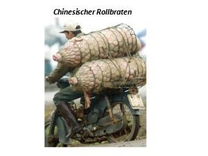 Chinesischer Rollbraten