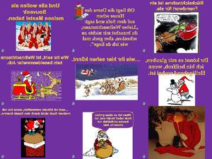 Der Weihnachtsmann hat es schwer