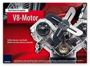Das Franzis Lernpaket V8 Motor!