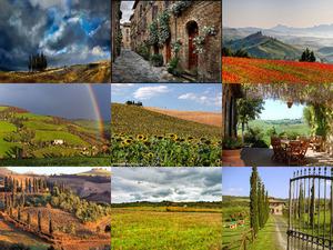 Toskana-Italien