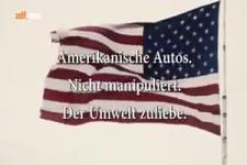 Amerikaner fahren US Autos der Umwelt zuliebe